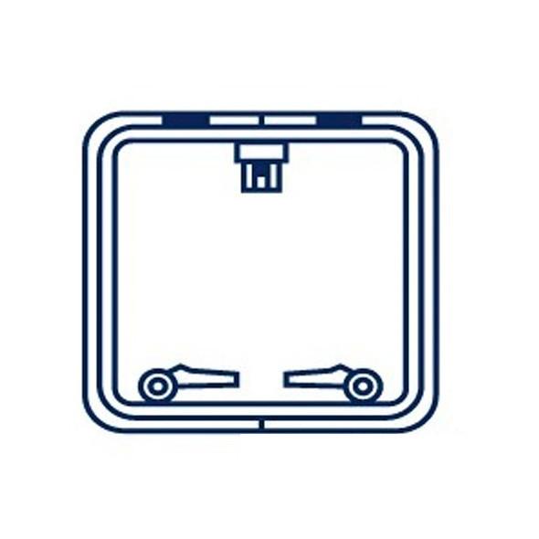 Protezione per passo uomo Quadrata 330x330 mm.