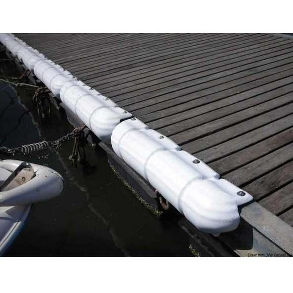 Protezione per Pontile - Tipo Bigfender - Bianco