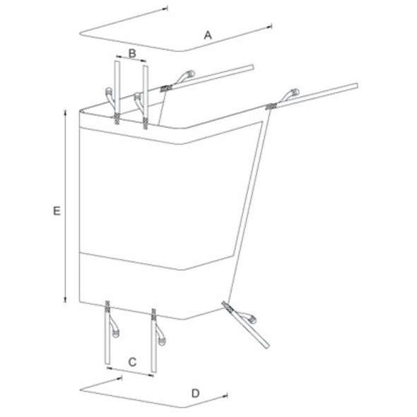Protezione Trasparente per T-Top - Large