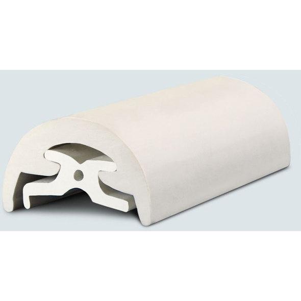 Radial Bottazzo in PVC Bianco mm. 30 x 12 mt.
