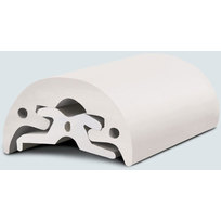 Radial Bottazzo in PVC Bianco mm. 52 x 24 mt.