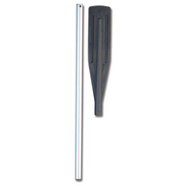 Remo alluminio smontabile. Pala Nera. 150 cm.