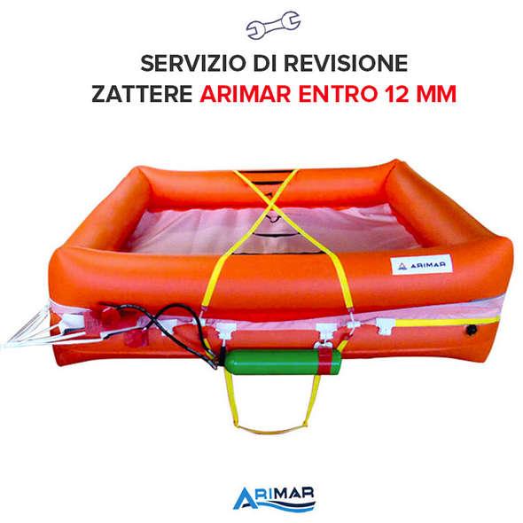 Revisione Zattera Arimar Entro 12 Miglia - 8P