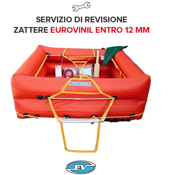 Revisione Zattera Eurovinil Entro 12 Miglia - 10P