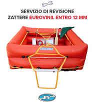 Revisione Zattera Eurovinil Entro 12 Miglia - 6P