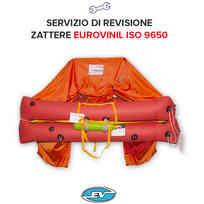 Revisione Zattera Eurovinil Oltre 12 Miglia ISO 9650