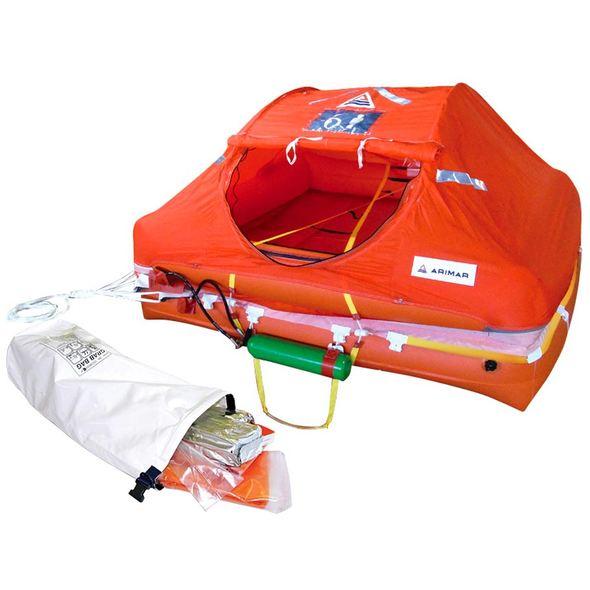 Rottamazione Zattera Arimar Oceanus Container + Grab Bag - 4 P.