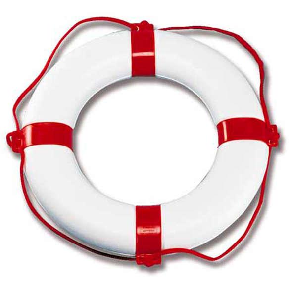"""Salvagente anulare """"Orca"""" Bianco - Rosso"""