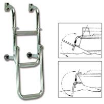 Scaletta Beta inox pieghevole 4 gradini