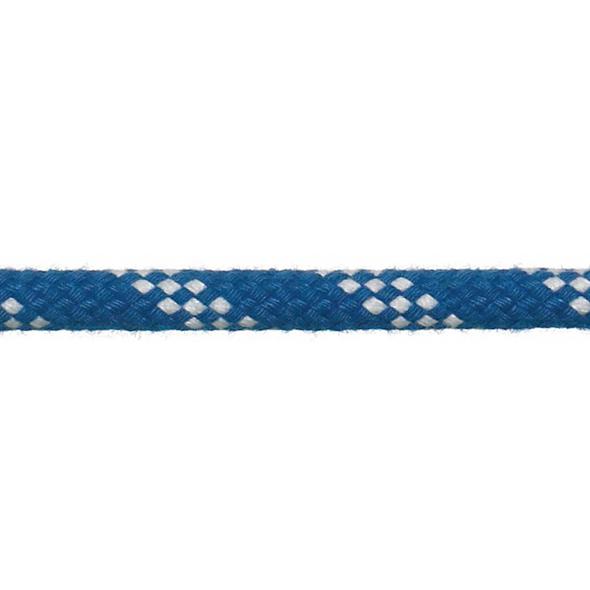 """Scotta """"Genoa"""" a doppia treccia 6 mm - Blu"""