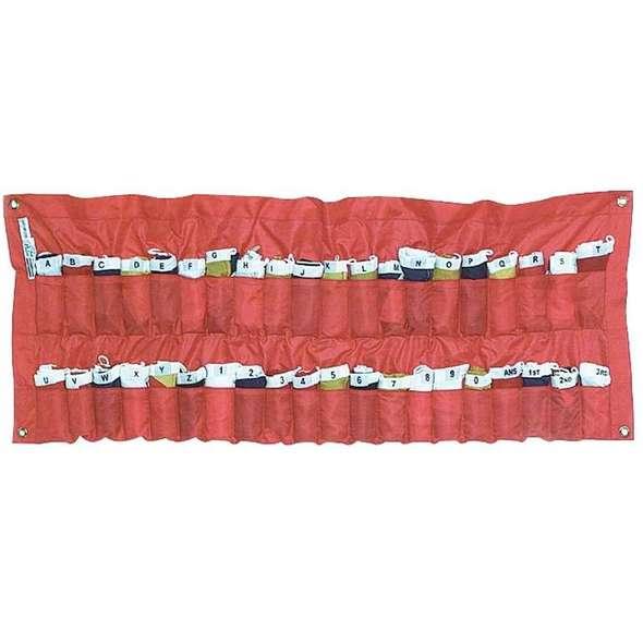 Set 40 Bandiere Gran Pavese con Contenitore