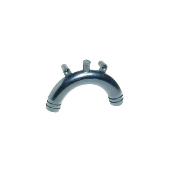 Sifone WC in polipropilene 19 mm. (3/4) - Per carico