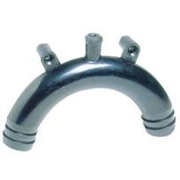 Sifone WC in polipropilene 25 mm. (1) - Per scarico