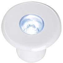 Singolo LED stagno Bianco