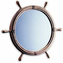 Specchio Timone Ottone Lucido D.320