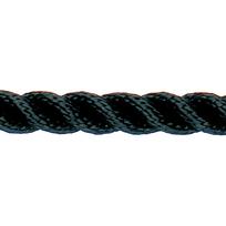 Spezzone Cima 3 capi alta tenacità nera 16 mm. X 4 mt.