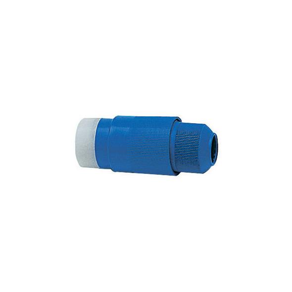 Spina impermeabile 30A blu