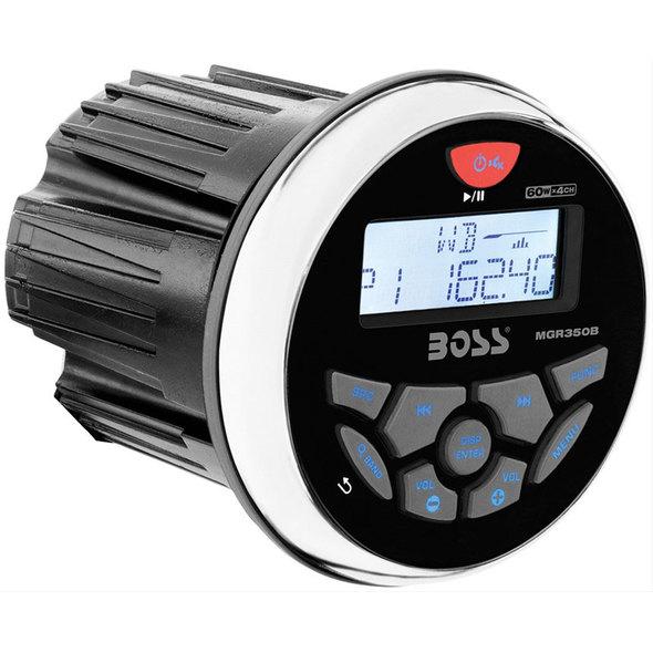 Stereo da cruscotto Boss Marine MGR350B
