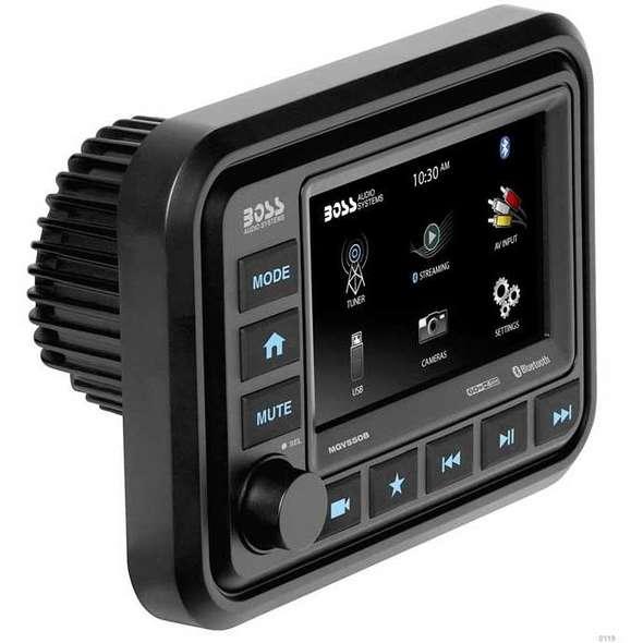 Stereo Multimediale da Cruscotto Boss Marine MGV550B