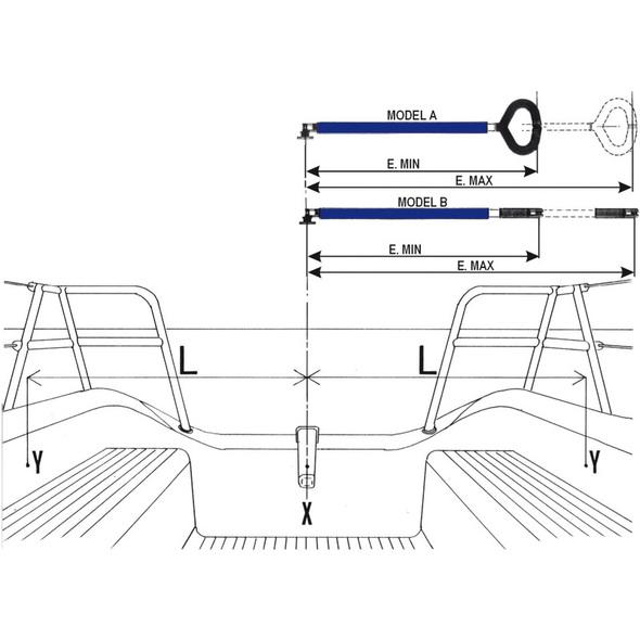 Stick vela Friend Standard 1043 mm