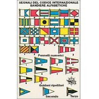 Tabella adesiva Codice internazionale 1. 11 x 17 cm