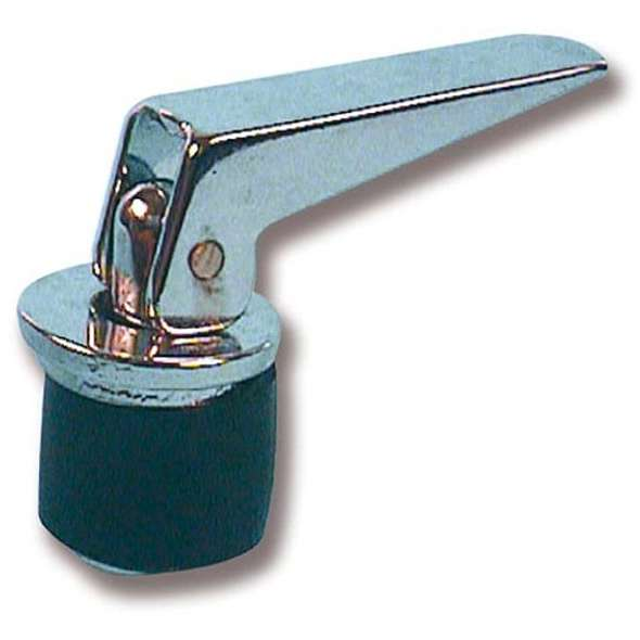 Tappo espansione a leva cromato 23 mm.
