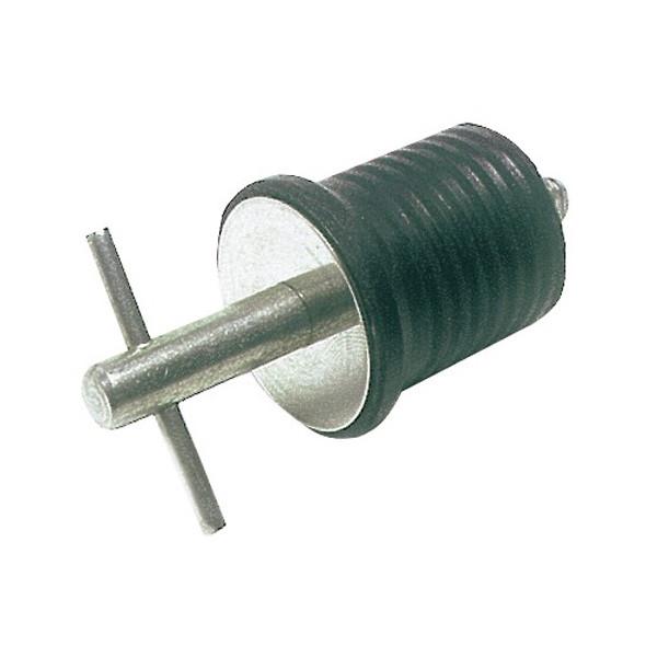 Tappo espansione a vite inox 22 mm.