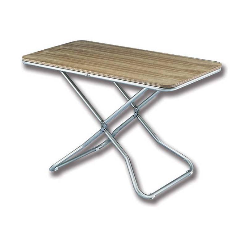 Tavolino Pieghevole Da Barca.Tavolo Pieghevole Con Piano In Teak Itaca