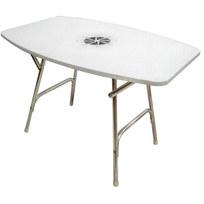 Tavolo pieghevole ovale
