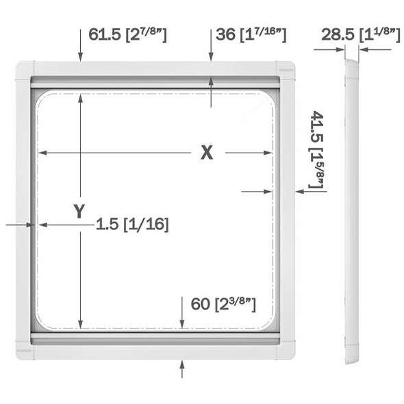 Tenda e zanzariera OCEANAIR Skyscreen 260x260 mm