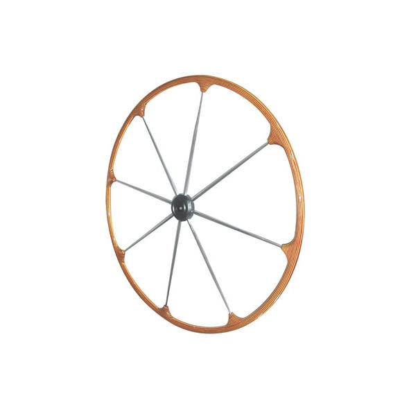 Timone cerchio esterno teak D. 40 cm.