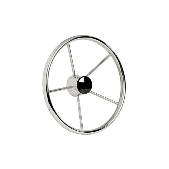 Timone Inox lucidato 380 mm