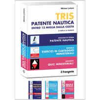 Tris Patente Nautica Entro 12 Miglia dalla Costa a Vela e a Motore - 2019