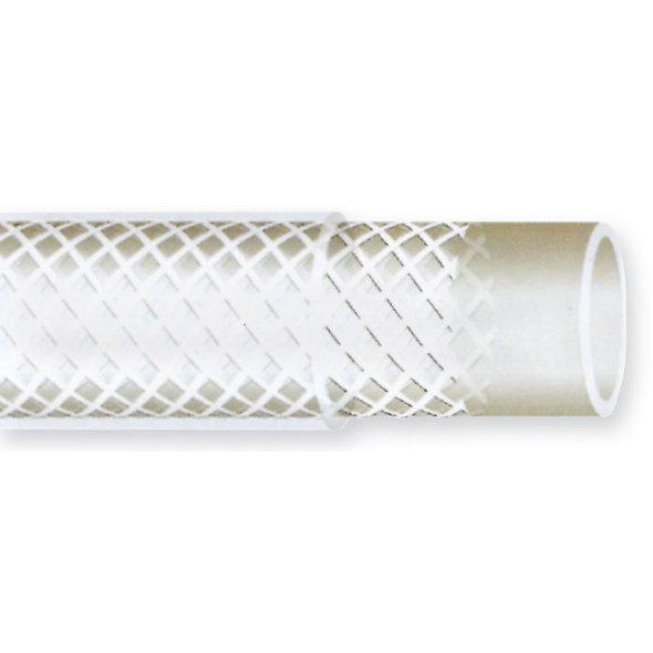 Tubo Retinato Pvc Trasparente 12X18 mm