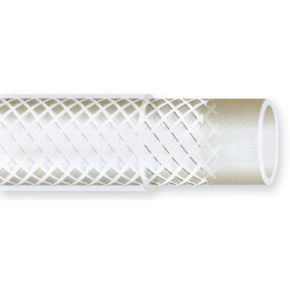Tubo Retinato Pvc Trasparente 19X26 mm
