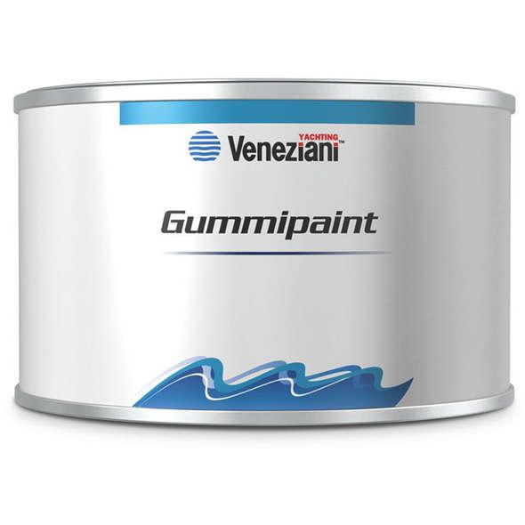 Veneziani Gummipaint Smalto Flessibile Gommoni Giallo Limone - 0,5 lt