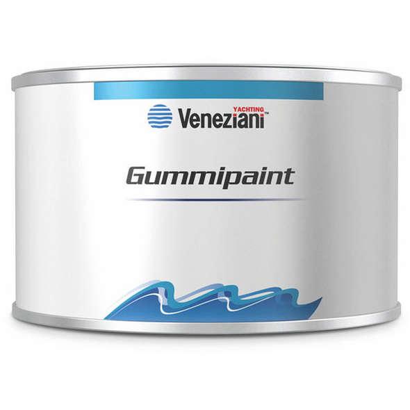 Veneziani Gummipaint Smalto Flessibile Gommoni Nero - 0,5 lt.