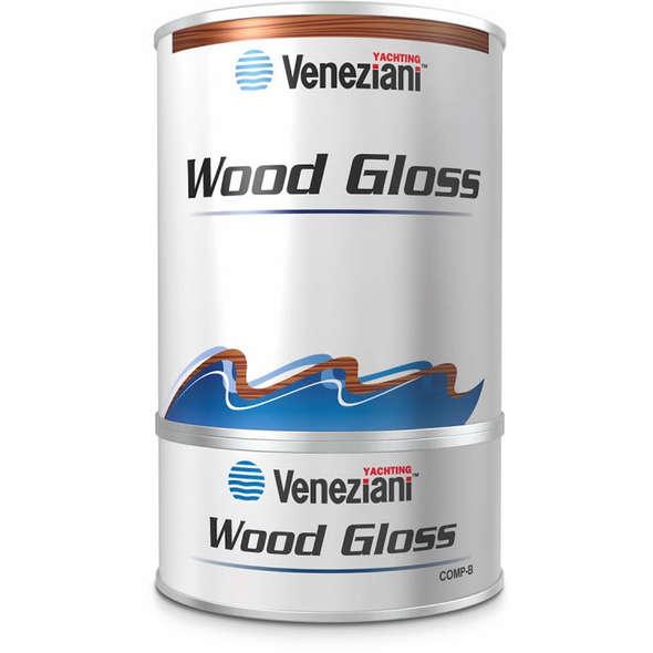 Veneziani Wood Gloss Vernice trasparente 0,75 l.
