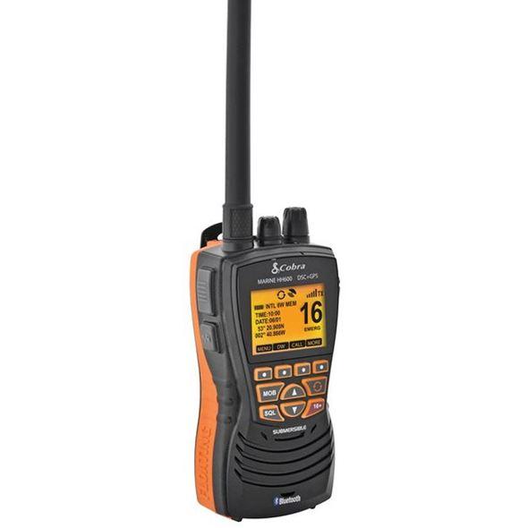 VHF Cobra Marine MR HH600 - Nero