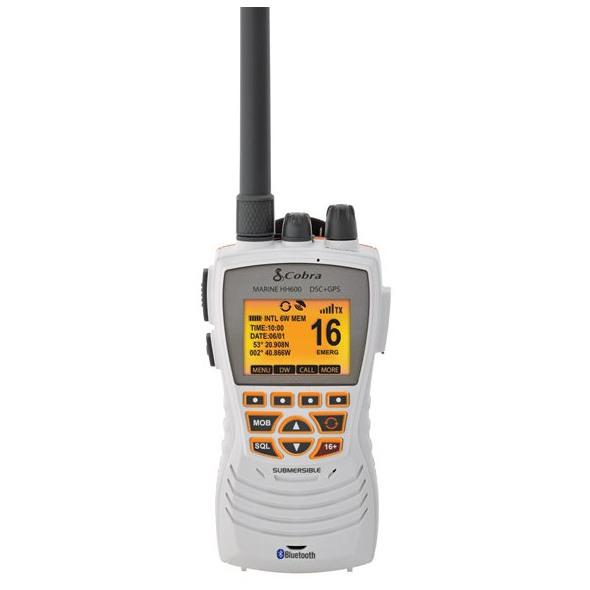 VHF Cobra Marine MR HH600W - Bianco