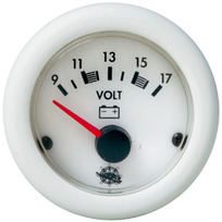 Voltmetro Bianco 10/16 V.
