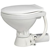 WC Elettrico Mediterraneo - Tazza piccola 12 V. - Tavoletta legno bianco