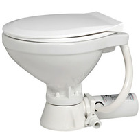 WC Elettrico Mediterraneo - Tazza piccola 24 V. - Tavoletta legno bianco