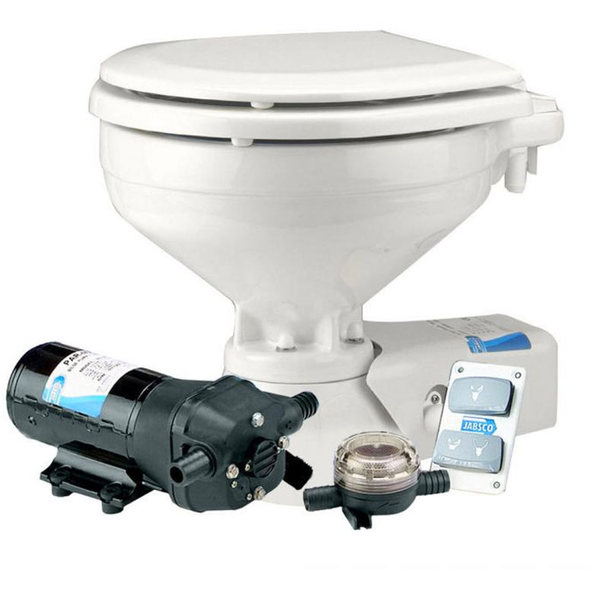 Wc Jabsco Quiet Flush Acqua Salata - 12V