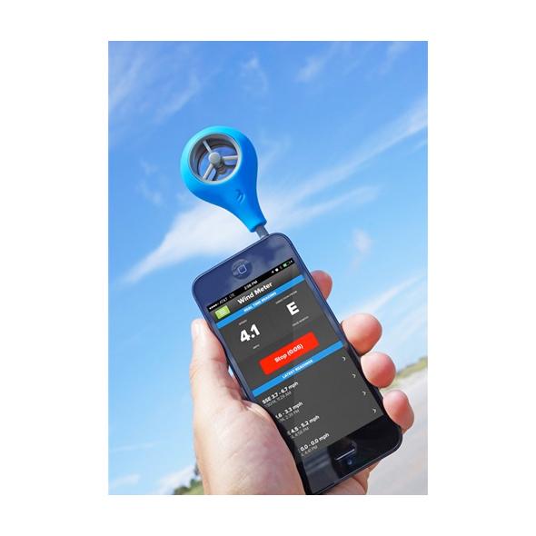 WeatherFlow Wind Meter Anemometro SmartPhone