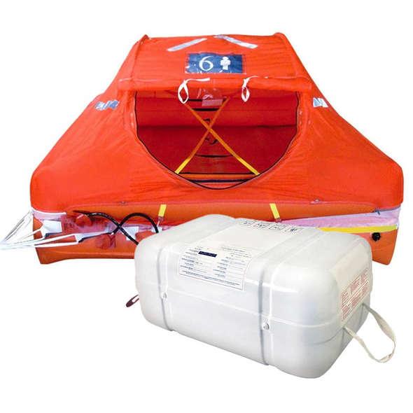 Zattera Iso 9650 Oceanlife Contenitore rigido 8 P.