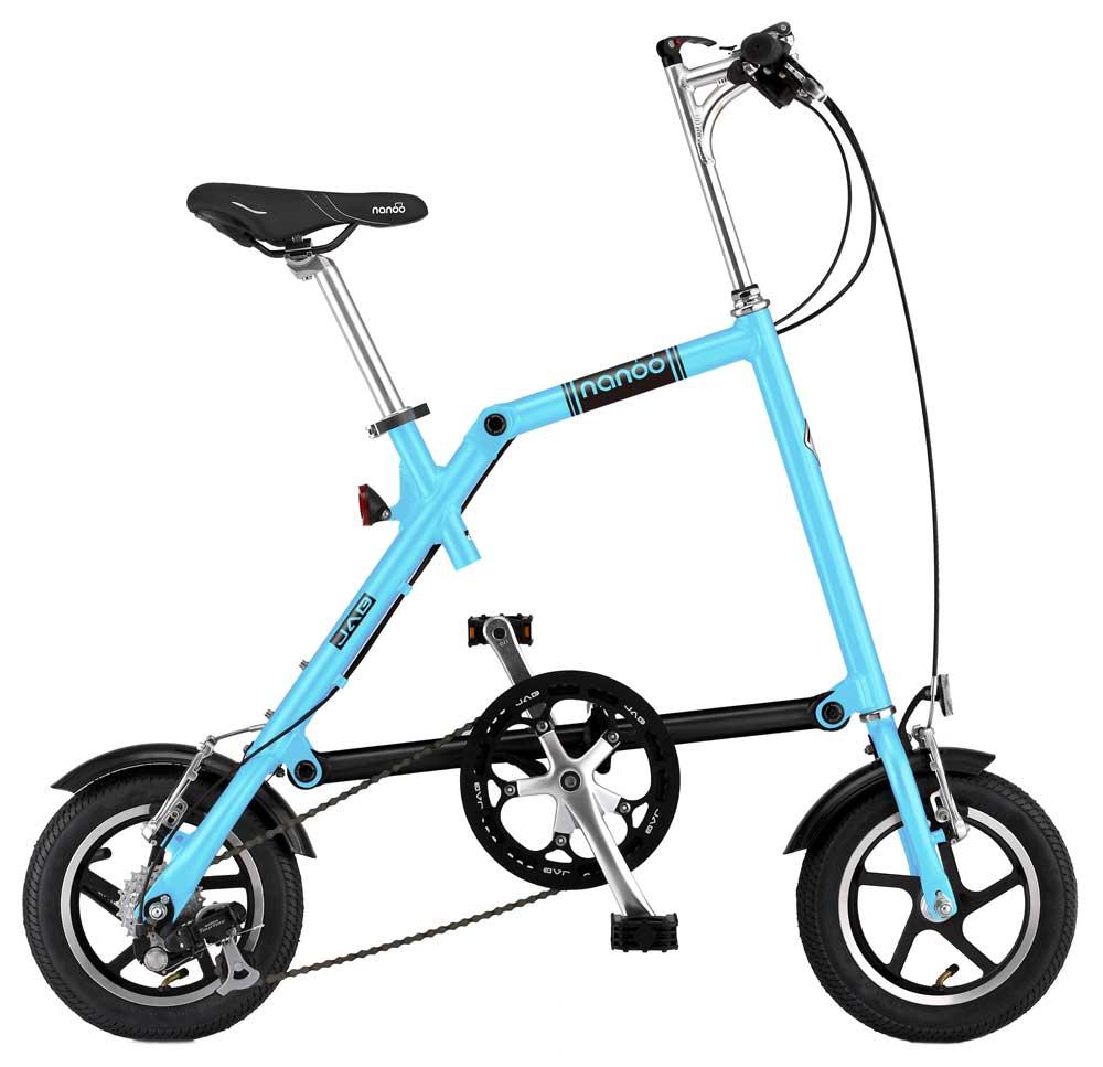 Bicicletta Leggera Pieghevole.Nanoo Bici Pieghevole Da Barca E Non Solo Magellanostore