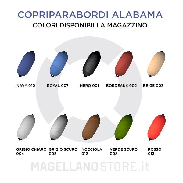 Copriparabordi Alabama Gamma Colori