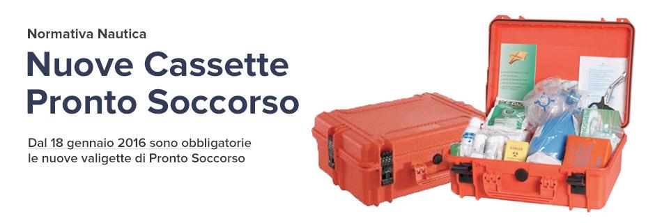 Nuove Cassette Pronto Soccorso Nautica Normativa